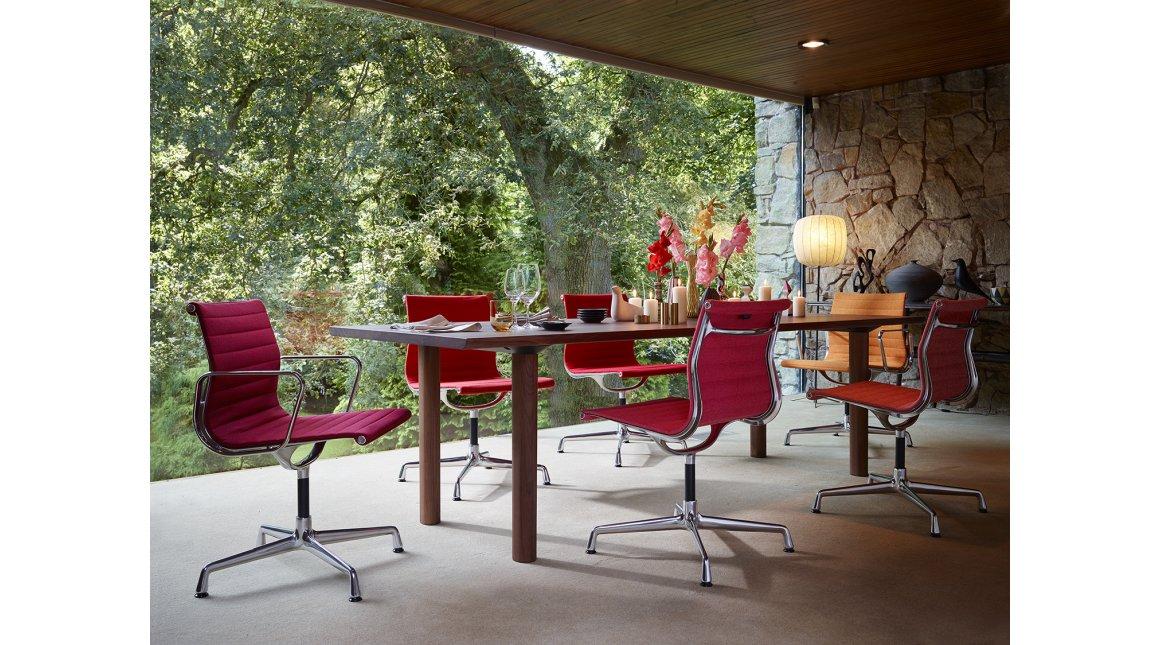 Aluminium Chairs EA 101, EA 103, EA 104