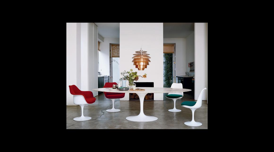Tulip Armless Chair