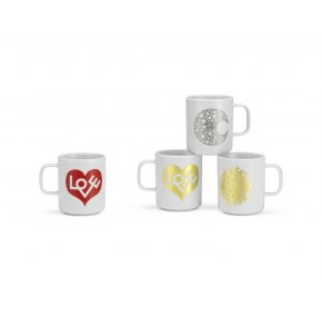 Love, Moon & Sun Coffee mugs